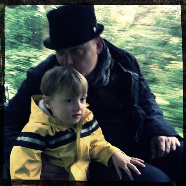 Fletcher of The Day: Train ride
