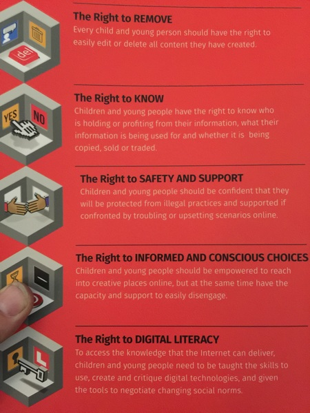 Do we think Snapchat could sign up to these principles? Why not. #iRights