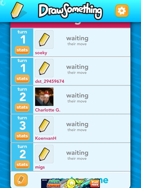 Alles waiting... #drawsomething