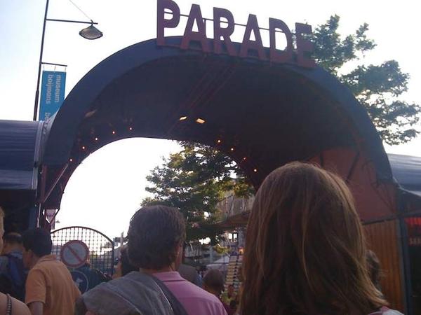 Snel naar De Parade geraced ^MT