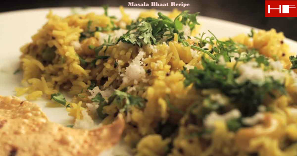 Masala Bhaat Recipe