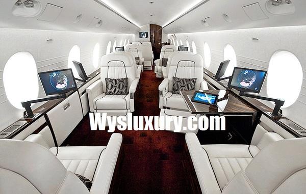 Fairchild Dornier 328jet Interior Private Plane Air Charter Flight