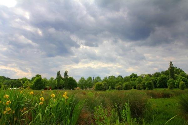 Dinsdag 26 mei 2015 Natuurgebied Ingendael, op de achtergrond Château Sint Gerlach in Houthem-Sint Gerlach #buienradar