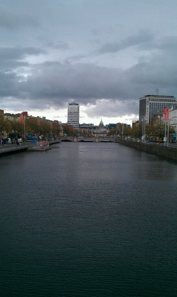 It is about to LASH in Dublin