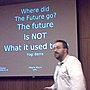 "Where did the future go? Let's change happen now ""TEEME  ÄRA"" - Vittorio Mischi #lift09"