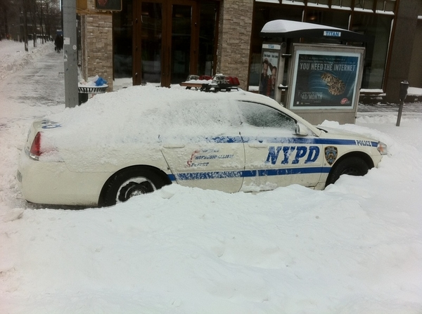 KO's Post-Blizzard NYC No. 2: At Least The Police Can... Never mind