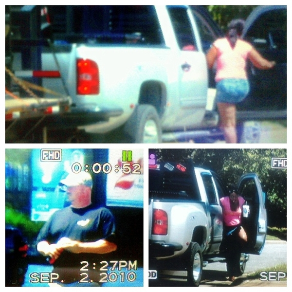 A man driving a Vaughn Energy Services truck picked up a #hooker in #OKC then dropped her back off. #johntv