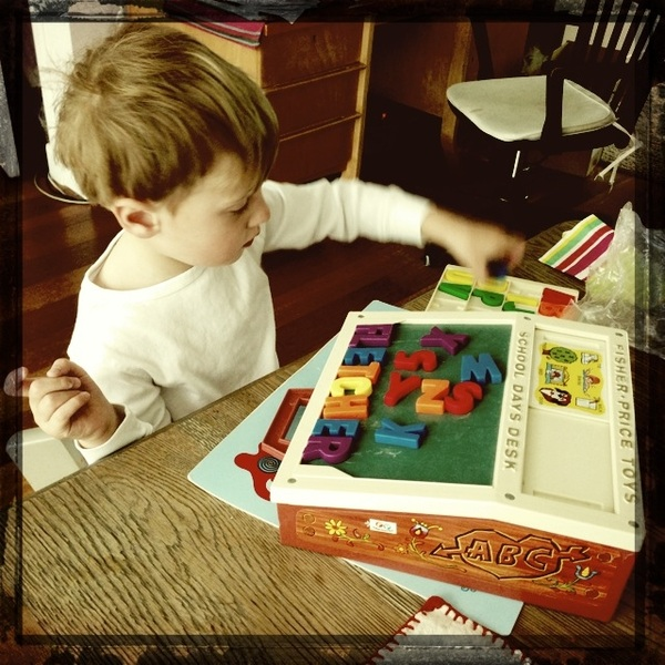 Fletcher of the day: playing with letters