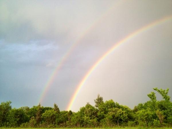 DOUBLE RAINBOW  @HypeOrDie
