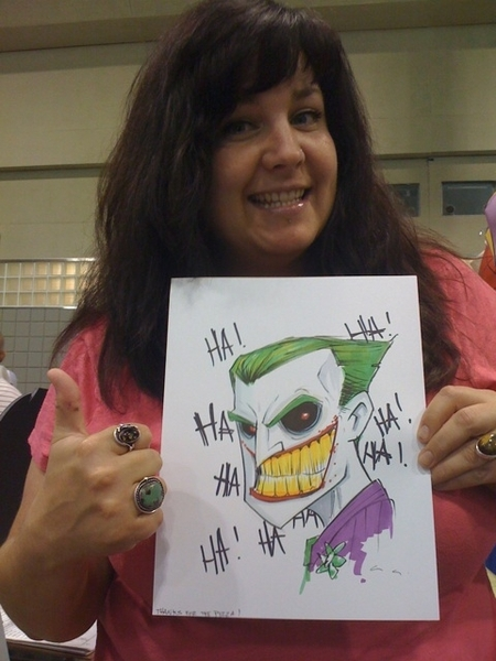 Kick-ASS original Joker from @uminga720 - I LOVE this guy!!!! <3<3<3 http://cuminga.com