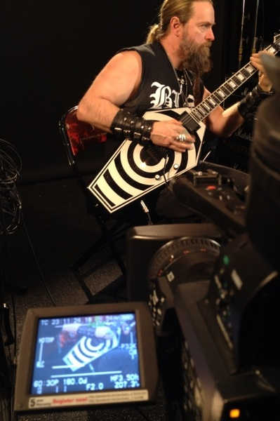 "Tales From THE BLACK VATICAN... THE GD/w THE FLOYD ROSE for the Solo in Parade... Film'n for ""GUITAR APPRENTICE""✞TBLO✞"