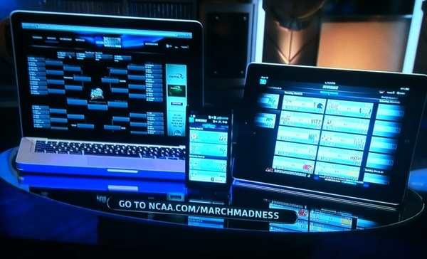 CBS Mobile for iPhone, iPod Touch & iPad @CBSSports http://www.cbssports.com/mobile. NCAA.com/MarchMadness