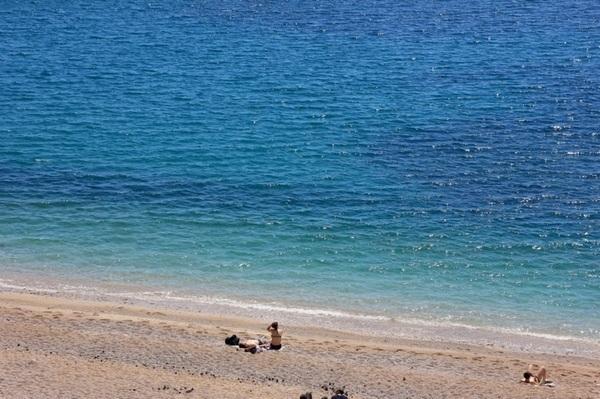 アドリア海綺麗だった
