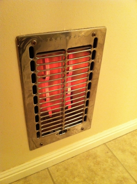 sometimes old houses have things better than them fancy new places coil wall heater in