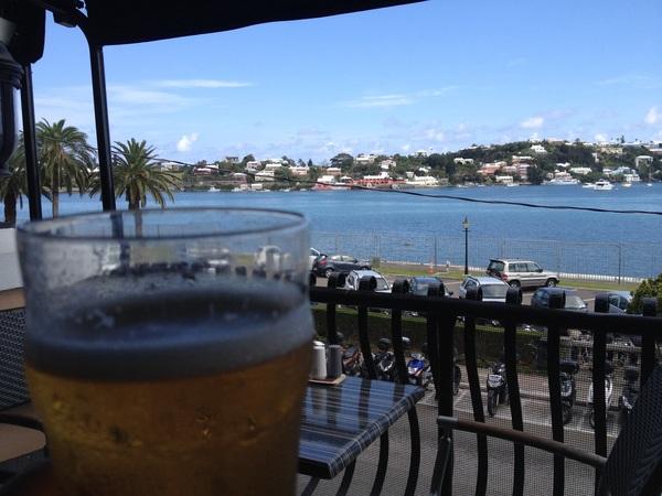 Harp goes down extra smooth at Flanagan's Irish Pub in Bermuda