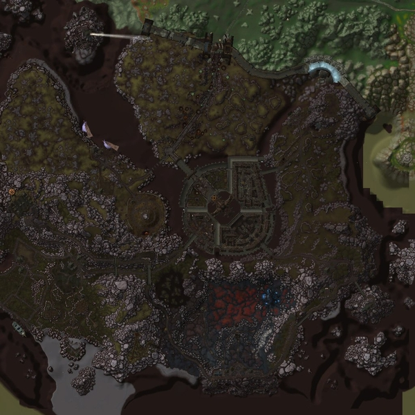 Just finished the new map stitcher for the new Cataclysm maps, the  first result is in: The Battle for Gilneas