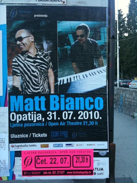 FotoPodcast: Konzerttipp in Opatija, Kroatien