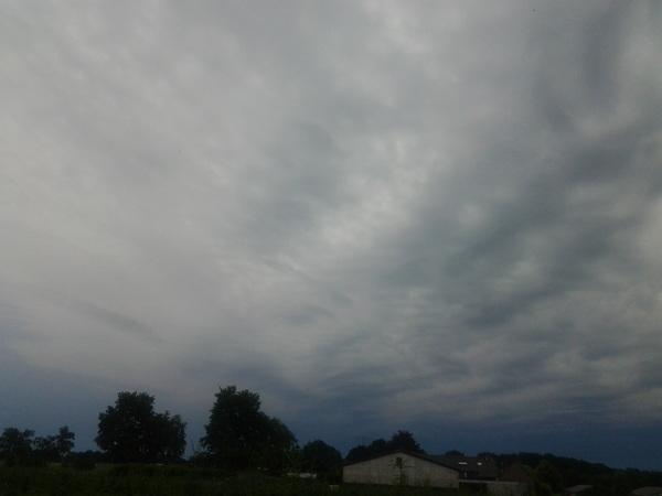 Komende onweersbui in Beringe #buienradar