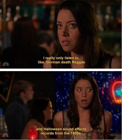 @lesbiyinzer I love Leslie but I'm more April.