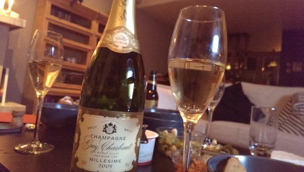 Gelukkig nieuwjaar! Een hele mooie champagne om 2014 mee te beginnen, met dank aan @indivirtual en @zeinian:D