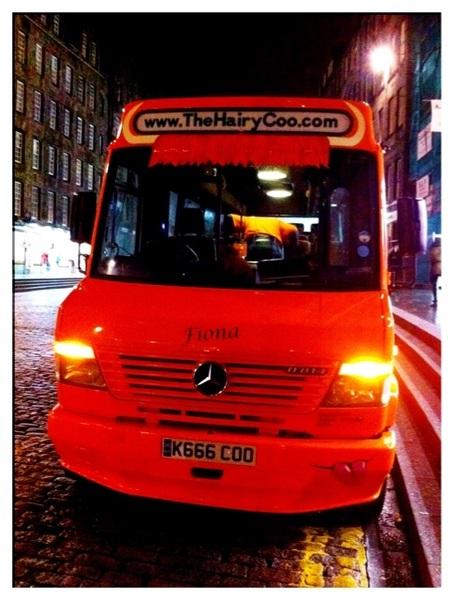 Schotland was gaaf, tourtje Hairy Coo en paar dagen Edinburgh! :-D