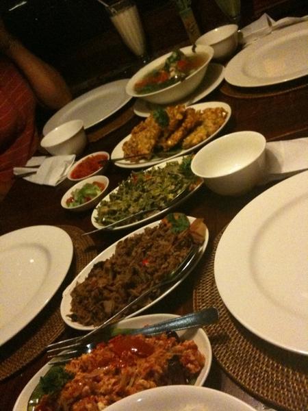 Manado food today