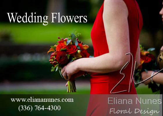 Wedding Flowers by Florist in Winston Salem, NC