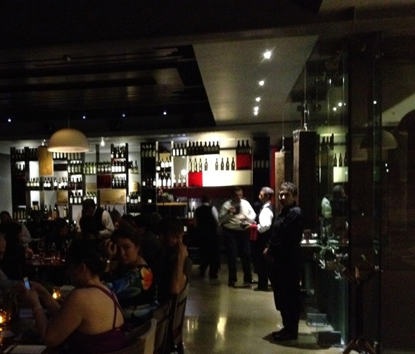 Last dinnerof staff trip: Javier Plascencia's Mision 19. Remarkable contemporary Baja cuisine in b'tiful LEED gold bldg