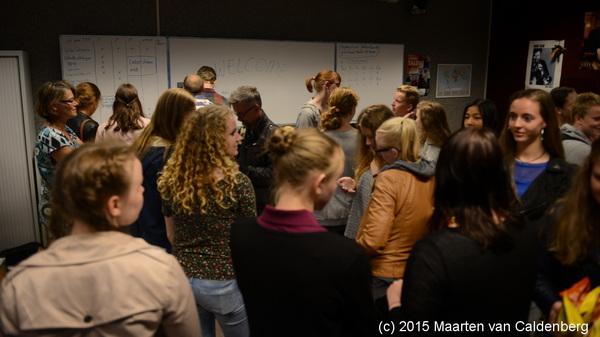 De #Zweden van Kulturskolan Smedjan uit #Tidaholm zijn veilig in #rosmalen voor de #uitwisseling met @blazersrosmalen @rodenborch