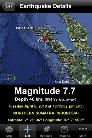 Sumatra hit by more eartquakes