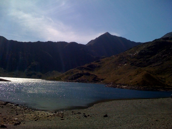 Snowdon from The Miners track.