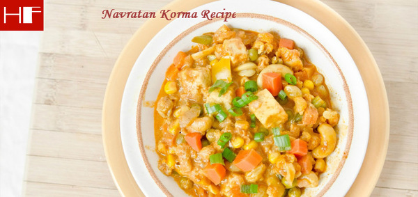 Navratan Korma Recipe