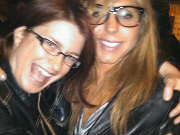 Me & Lizzy (Eliza Neals) at #DMAs