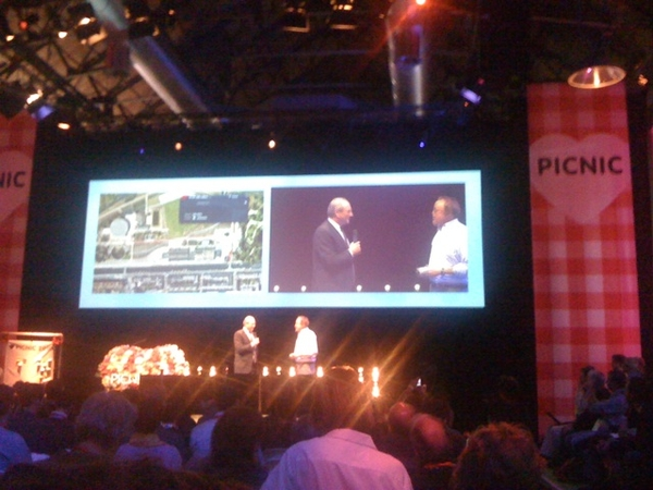 Job cohen takes the stage, #picnic09
