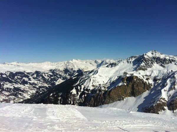 Another gorgious day in the Swiss Alps!