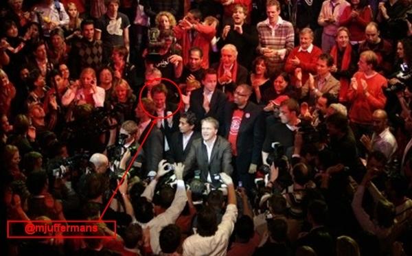 Tweedekamerverkiezingen 2003. Met @mjuffermans  in Escape bij de uitslagenavond van PvdA.  http://prbt.nl/C7AEC931