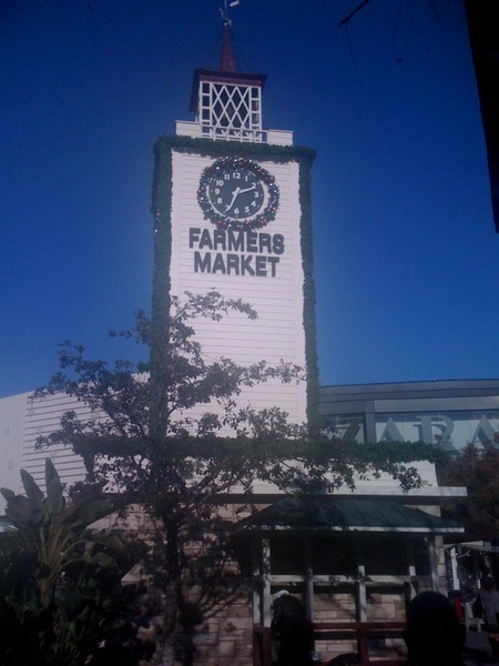 At The Grove In El Lay. Great day to be out. #farmersmarket