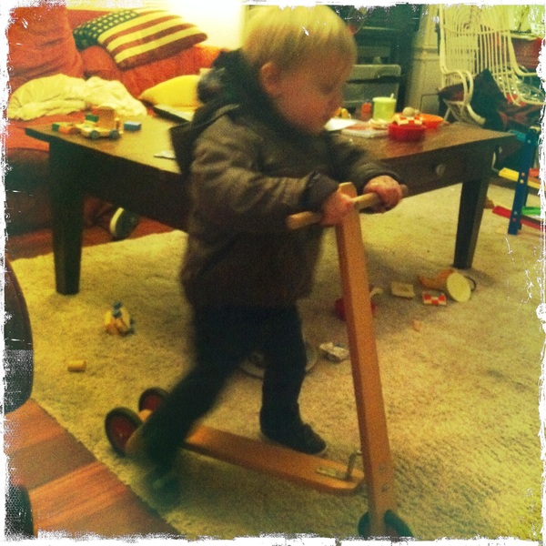 Fletcher of the day: New step
