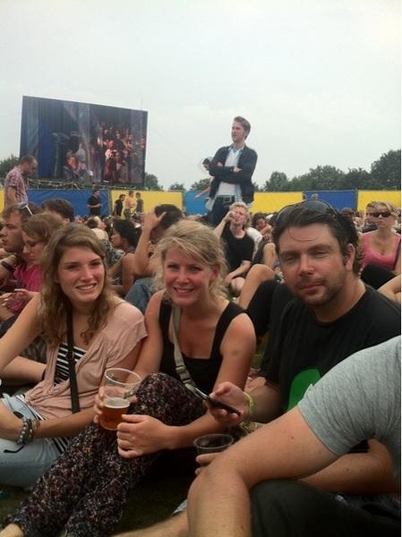 @heeralewijn bij The Roots met @hed en @tanalino