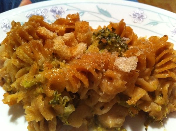 Not to toot my own horn, but this Mac & Cheese with Broccoli came out AWESOME!
