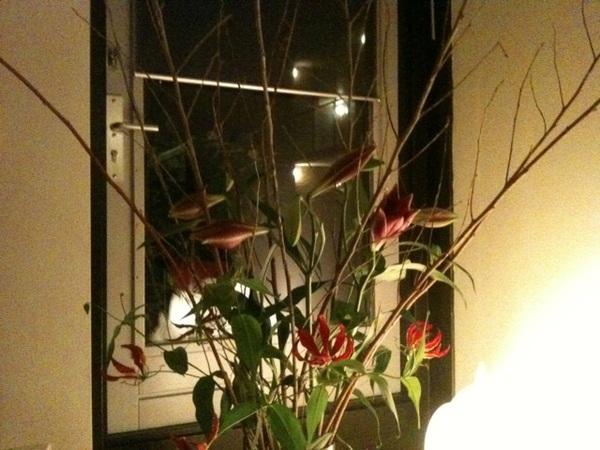 En dat je dan toch altijd van een paar simpele maar mooie bloemen van @donflorito heel erg gelukkig wordt...