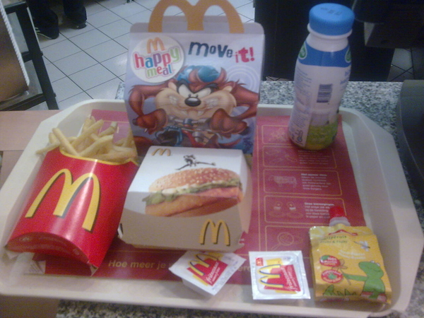 Ter afsluiting #happymeal
