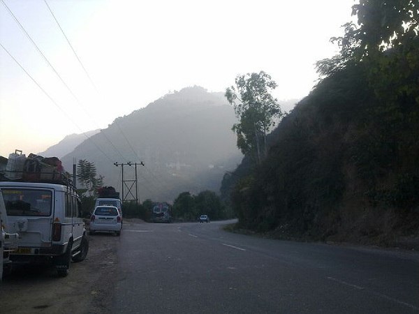 Return journey from #Manali is nice, specially the road side views. Himachal Pradesh is awesome. #rtwnow