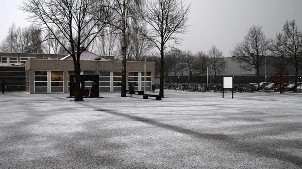 Donderdagmiddag kleurde #rosmalen wit. Niet door de voorspelde #sneeuw maar door #hagel