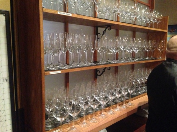 U can tell I have restaurant blood n my veins: I get excited ea evening looking@all the polished glassware b4 service