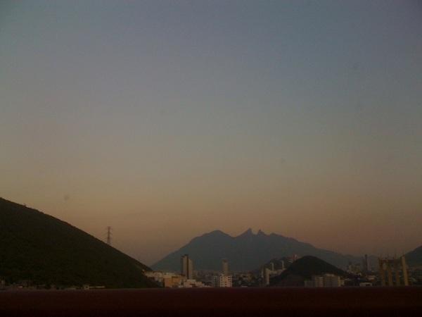 Desde el Cerro de la Silla el Atardecer en Monterrey #MtyFollow