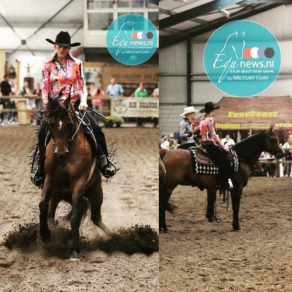 Fabulous pictures from last Saturday by @Equnews.nl #para #reining #Schijndel