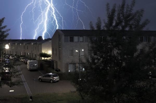 Lichtshow Arnhem #2 #buienradar