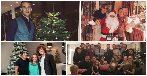Seems like the #World11 nominees are enjoying their #Christmas! Which players do you recognize?