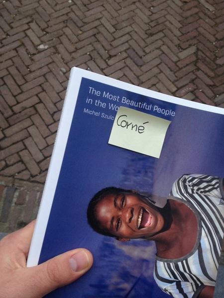 Aan het einde van een kneiterdrukke dag een kado ontdekken is TOPSHIT tx @nsmeding!!